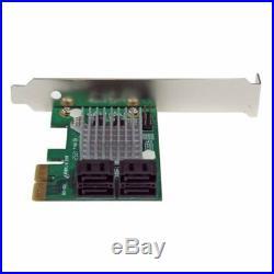 Startech. Com 4 Puertos PCI Express 2.0 Sata III 6gbps Controlador Raid