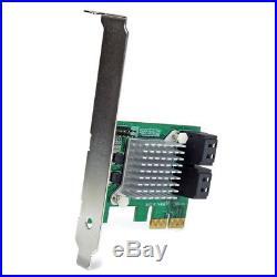 Startech. Com PEXSAT34SFF RAID Kontroller PCI-e 2.0, SATA III, mini-SAS, RAID 0/