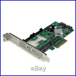 Startech StarTech. Com 2 Port PCI Express SATA III 6Gbps RAID Card w 2 m NEU