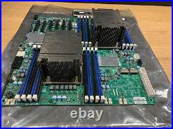 SuperMicro X9DRD-7LN4F 2 x E5-2620 v2 CPU LGA 2011 Server Motherboard 6Gbs IPMI
