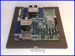 SuperMicro X9DRH-iF Intel C602 Motherboard Dual R LGA 2011 DDR3 PCI-e 3.0 SATA3