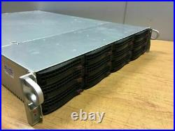 Supermicro 2U Server 2x E5-2620 6 Core 14 Bay X9DRD-7LN4F 256GB 4x 1Gbe IPMI 8TB
