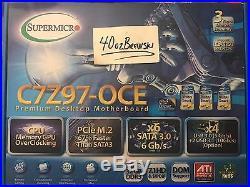 Supermicro C7Z97-OCE Gaming Motherboard LGA-1150 Intel Z97 DDR3 SATA3 PCI-E 3.0