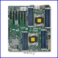 Supermicro Motherboard MBD-X10DRI-T-B LGA2011 E5-2600v3 C612 DDR4 PCI-Express SA