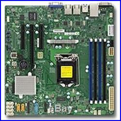 Supermicro Motherboard MBD-X11SSL-F-B Xeon E3-1200 v5 LGA1151 Socket H4 C232