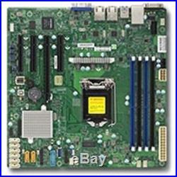 Supermicro Motherboard MBD-X11SSM-B Xeon E3-1200 v5 LGA1151 Socket H4 C236 PCI E