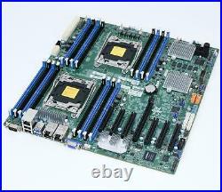 Supermicro X10DRH-CT Dual XEON LGA2011-v3 10GbE SAS3/12G RAID E-ATX Motherboard