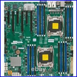 Supermicro X10DRi Server Motherboard Intel Chipset Socket LGA 2011-v3 Exte