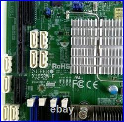 Supermicro X10SRW-F Motherboard LGA2011 R3 Intel C612 8x DIMM Slots DDR4 WIO