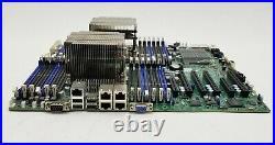 Supermicro X9DR3-LN4F+ Dual LGA2011 DDR3 Motherboard 2Xeon E5-2620 2GHz CPU