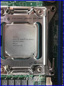Supermicro X9DRL-iF Dual Socket R LGA 2011 ATX WITH 1x e5-2620v2 & 16 GB Ram