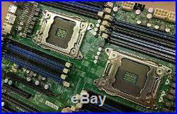Supermicro X9DRi-F E-ATX Motherboard System Board Dual Socket 2011 16x DDR3 DIMM