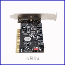 Syba 4-Port SATA I/II PCI RAID Controller Card