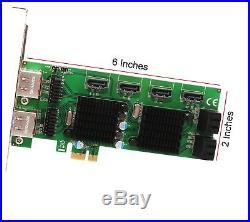 Syba Multimedia 8-port Sata Iii And Esata 6g Pci-e 2.0 X1 Card 8 (sdpex40105)