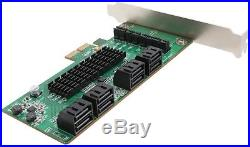 Syba SATA III 8 Port PCI-E 2.0 Controller Card
