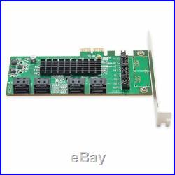 Syba SD-PEX40099 4 Port SATA III PCI-EXPRESS 2.0 x 1 Controller Karte 8-port