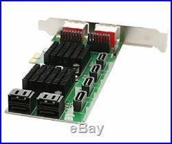 Syba SD-PEX40105 8 Port SATA III eSATA 6G 2.0 x 1 PCI-e Card