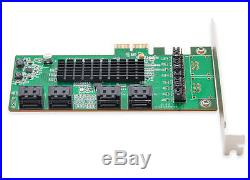 Syba SI-PEX40071 8-port SATA 6bps PCI Express 2.0 x2 Bus Raid Controller Card