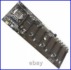 USA Onda B250 D8P-D3 B250 Motherboard BTC ETH ZEC XMR Miner 8PCI-E DDR3 LGA 1151
