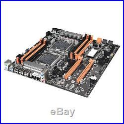 X79 CPU motherboard LGA 2011 E-ATX USB3.0 SATA3 PCI-E 3.0 Dual Xeon Processor