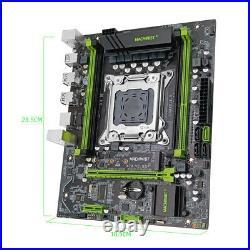 X79 M. 2 NVME Motherboard LGA 2011 DDR3 Dual Channel RAM SATA 6Gb/s Xeon E5 V1 V2