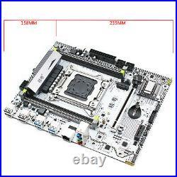 X99 Desktop Motherboard LGA 2011-3 support DDR3/DDR4 RAM SATA III PCI-E USB 3.0