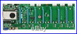 YanRui BTC IC6S Motherboard for ETH ZEC ETC XMR Miner 8 PCI-E